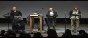 Die Drei Fragezeichen im Kosmos - Live performance of the three investigators (???)