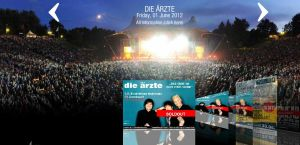 Die Aerzte 2012 in der Wuhlheide (Berlin)