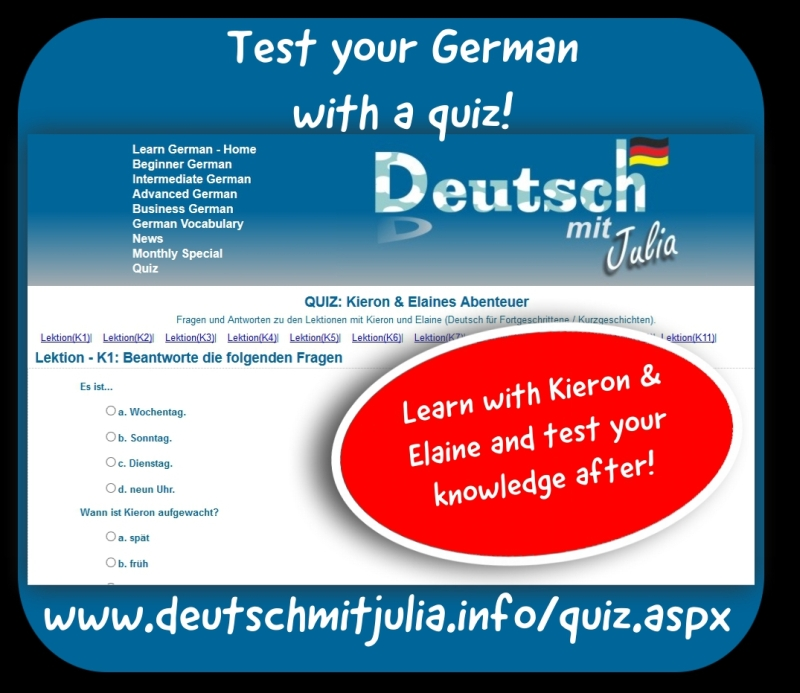Deutsch mit Julia - Learn German - Deutsch Lernen | Learn